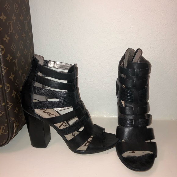 c08adce90 Sam Edelman cage style booties. M 5aef3b332ae12fa22994d561